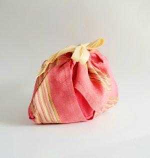 Origami silk purse