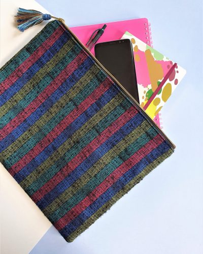 Fabric document holder