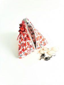 Triangle shaped purse