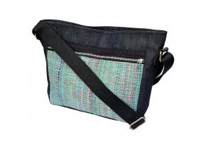 Crossbody bag teal 3