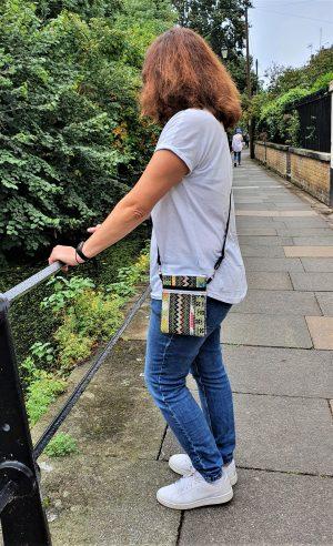 Small crossbody bag for mobile phone