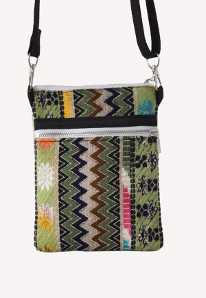 Small crossbody bag for mobile phones